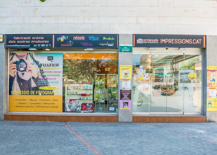 Empresa d'arts gràfiques a Cerdanyola