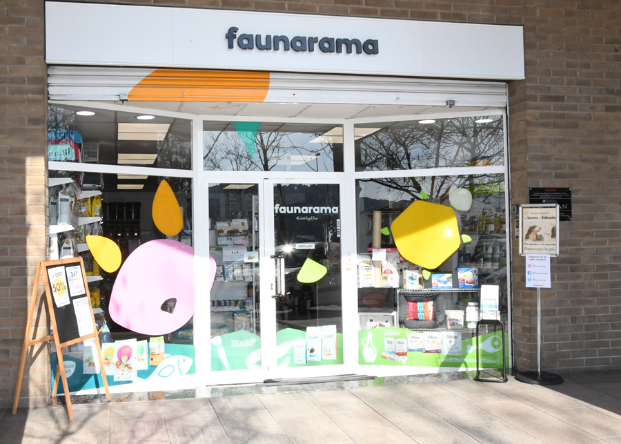 Faunarama botiga per mascotes a Cerdanyola