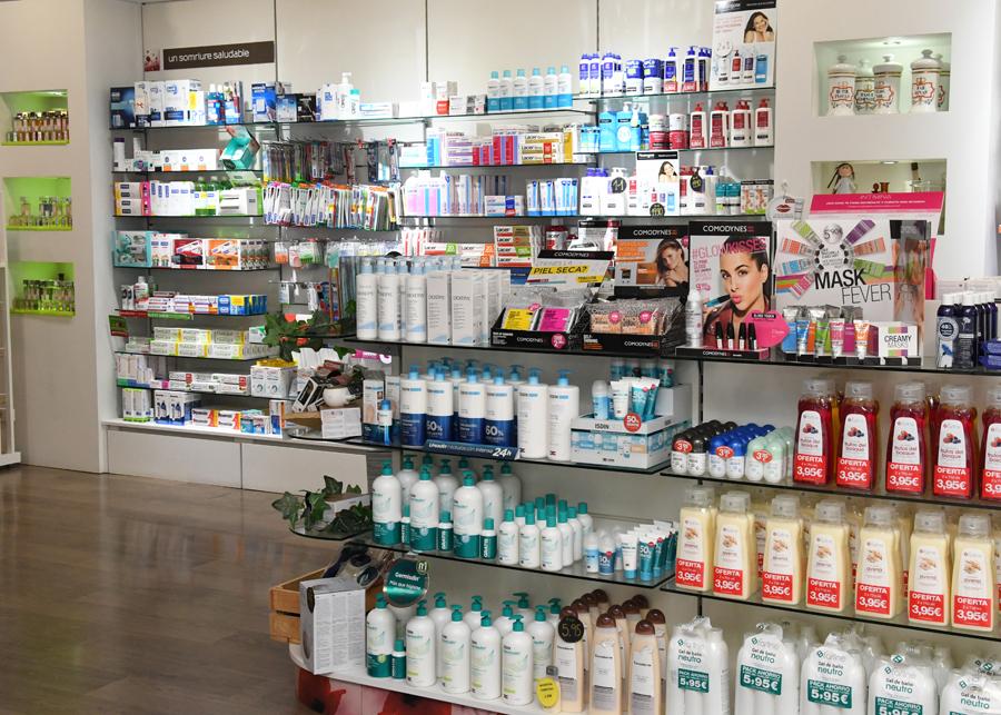 Productes higiene a farmàcia de Cerdanyola