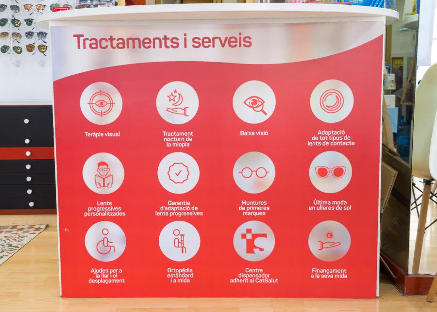 Tractaments i serveis d'òptica - ortopèdia Sant Jordi de Cerdanyola