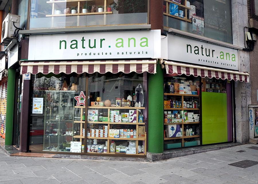 Alimentació ecològica a Natur Ana de Cerdanyola