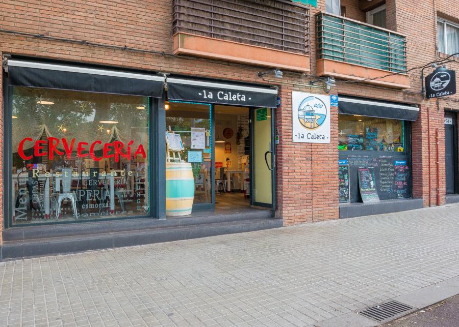 restaurant- cerveseria del centre de Cerdanyola.
