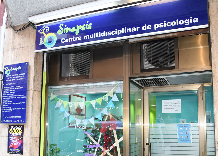 Sinapsis centre de psicologia a Cerdanyola