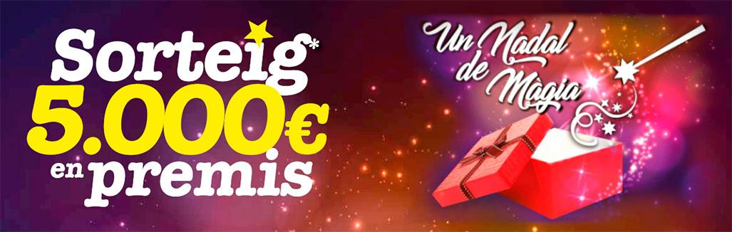 Sorteig de 5000€ a la campanya Un Nadal de Màgia a Cerdanyola